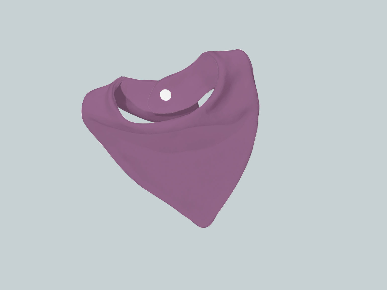 Bib Scarf - Purple