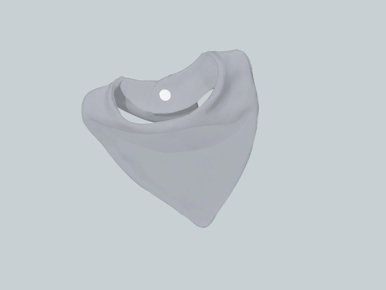 Bib Scarf - Light Gray