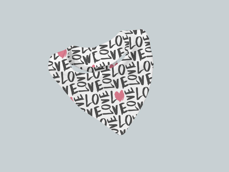 Bib Scarf - Love Everywhere