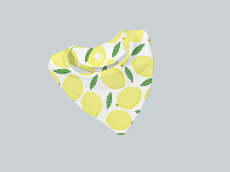 Bib Scarf - Lively Lemons