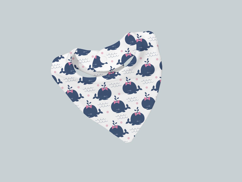 Bib Scarf - Happy Whale