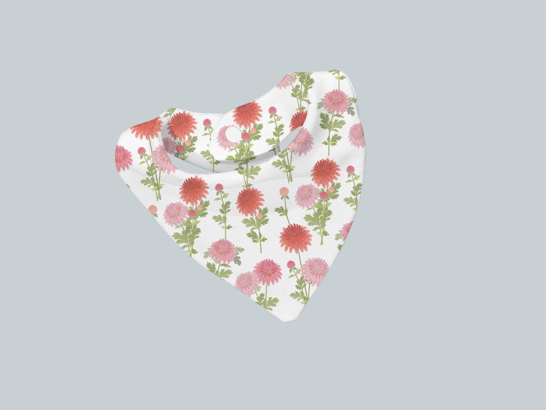 Bib Scarf - Bright Blooms