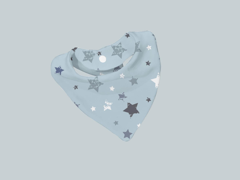 Bib Scarf - Blue  Star Sky