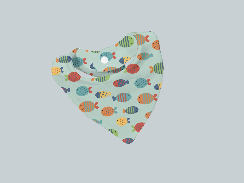Bib Scarf - Fish Friends