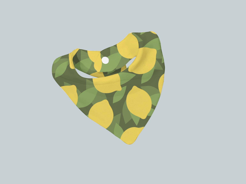 Bib Scarf - All Lemon
