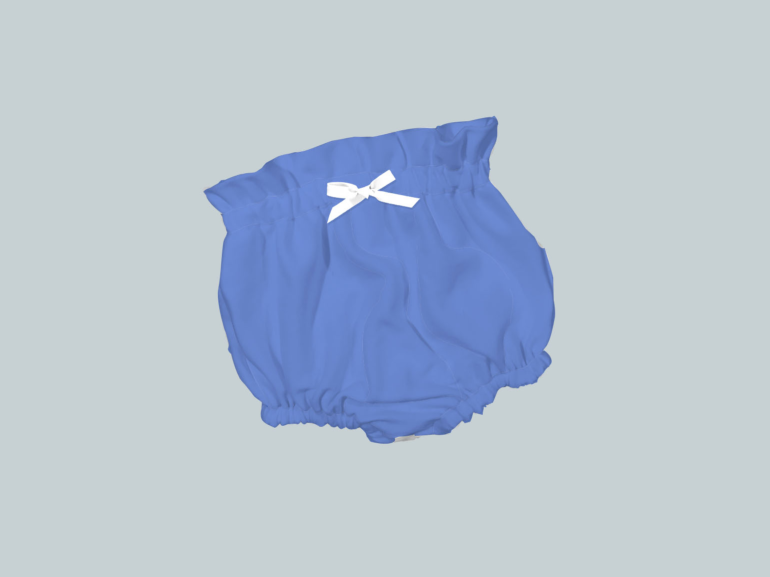Bummies/High Waisted Bloomers - Periwinkle