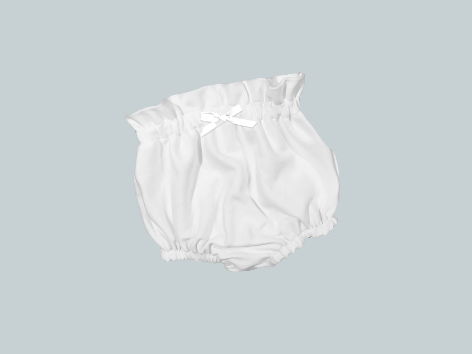 Bummies/High Waisted Bloomers - White
