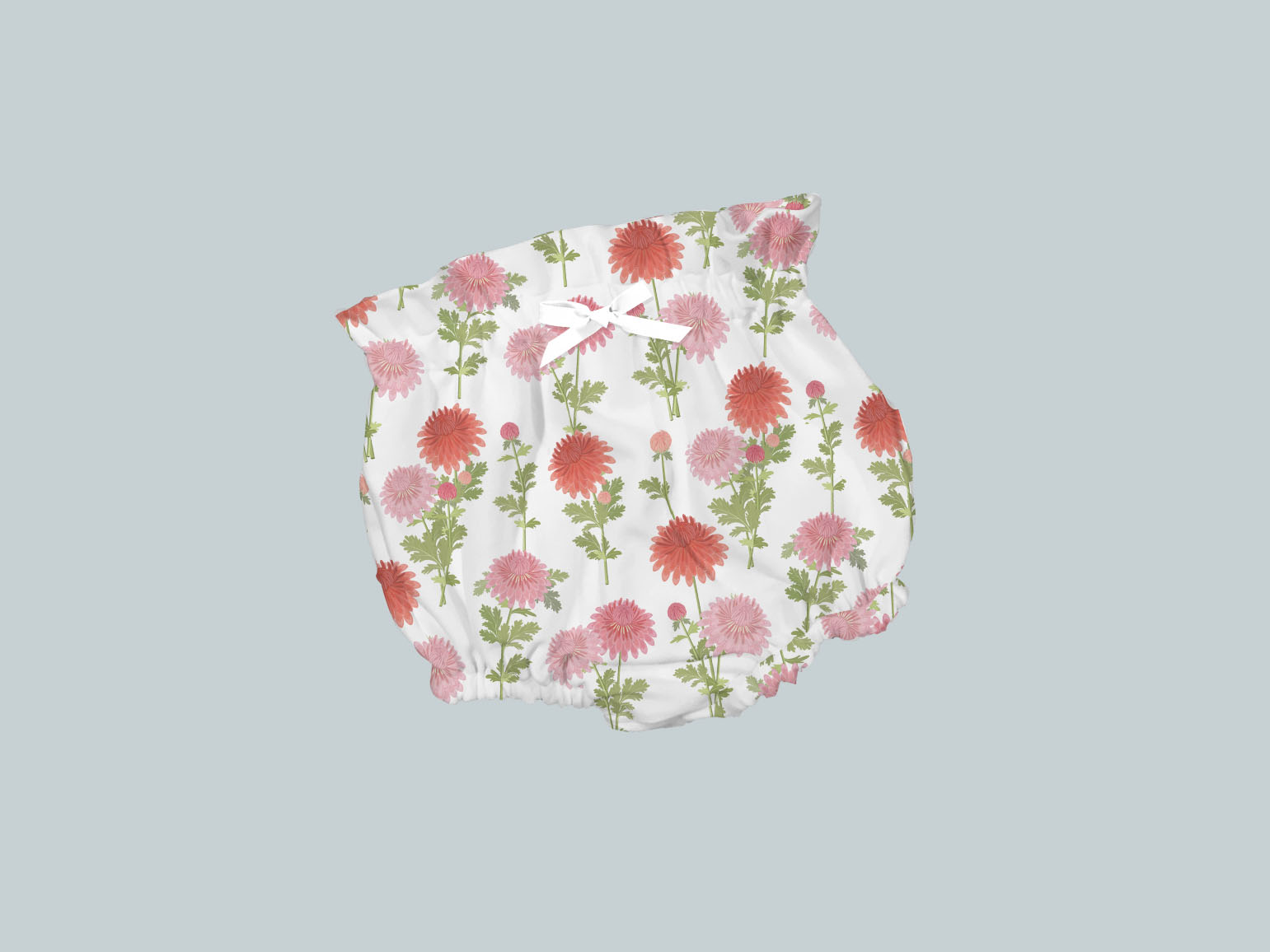 Bummies/High Waisted Bloomers - Bright Blooms