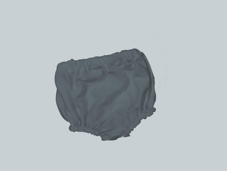 Bummies/Diaper Cover - Dark Gray