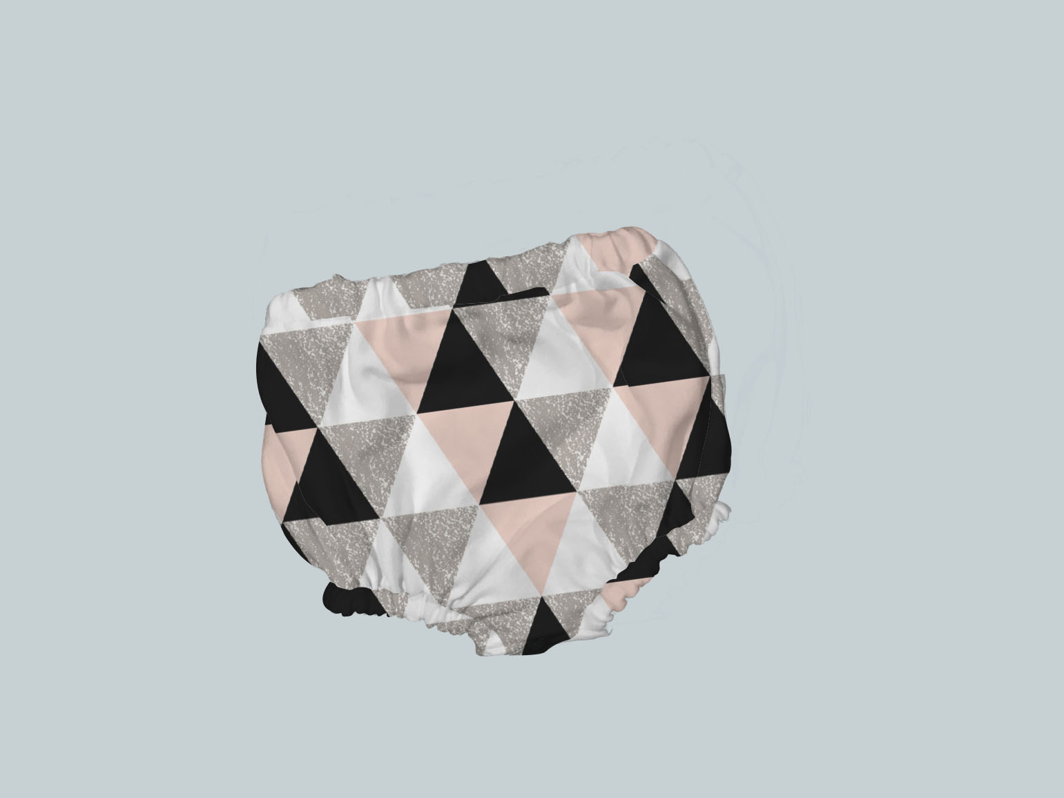 Bummies/Diaper Cover - Geo Check Pink