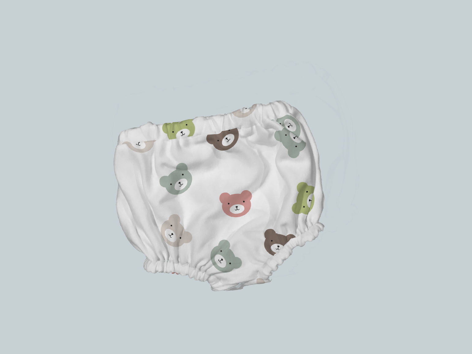 Bummies/Diaper Cover - All Over Bears