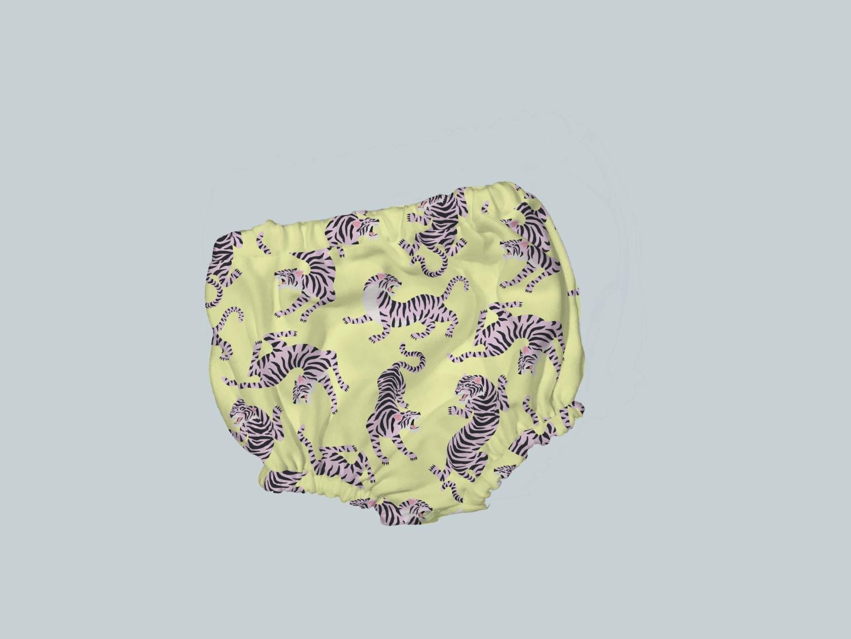 Bummies/Diaper Cover - Blue & Orange Tigers