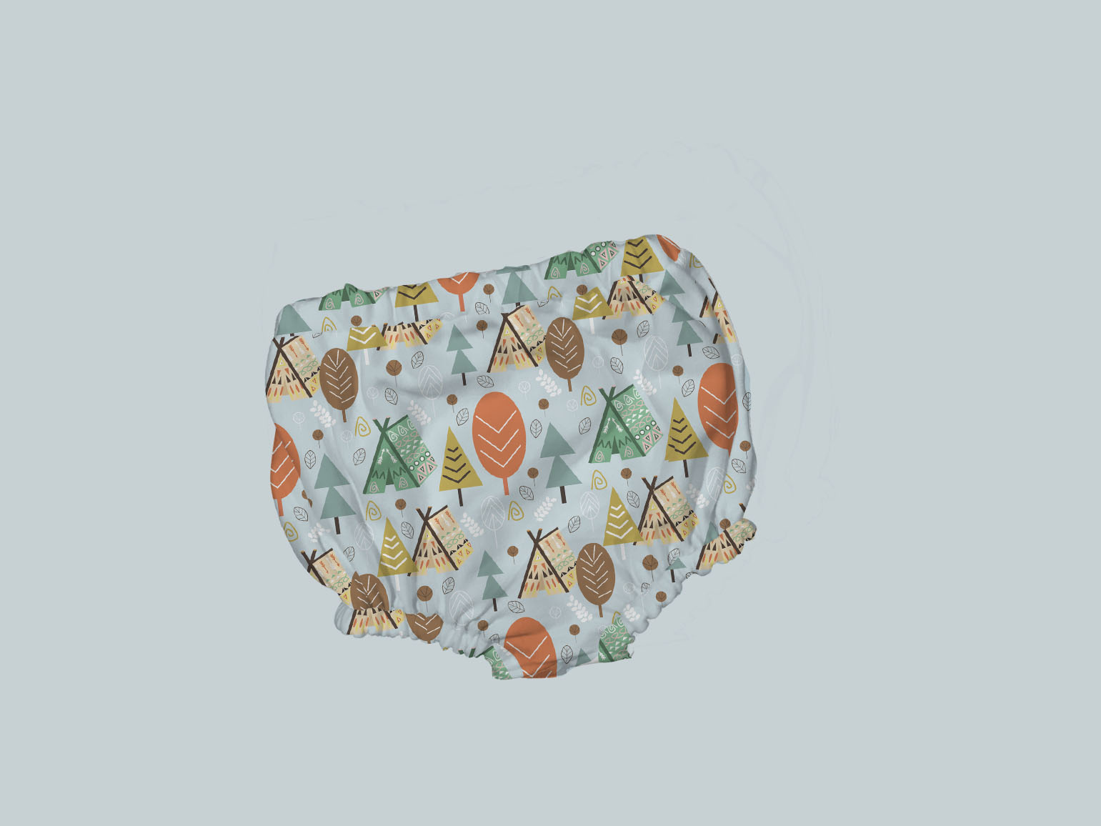 Bummies/Diaper Cover - Camping