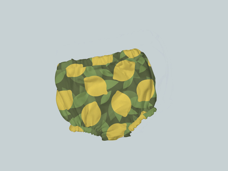 Bummies/Diaper Cover - All Lemon