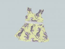 DressTankRuffleRibbon - Blue & Orange Tigers