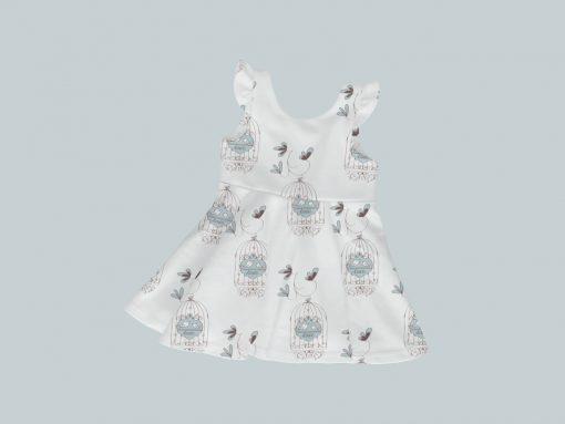 Dress with Ruffled Sleeves - Tweet Tweet