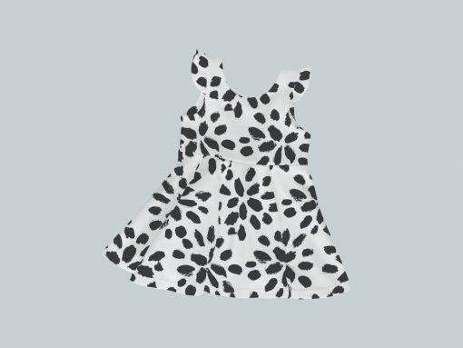 Dress with Ruffled Sleeves - Spotted Dottie